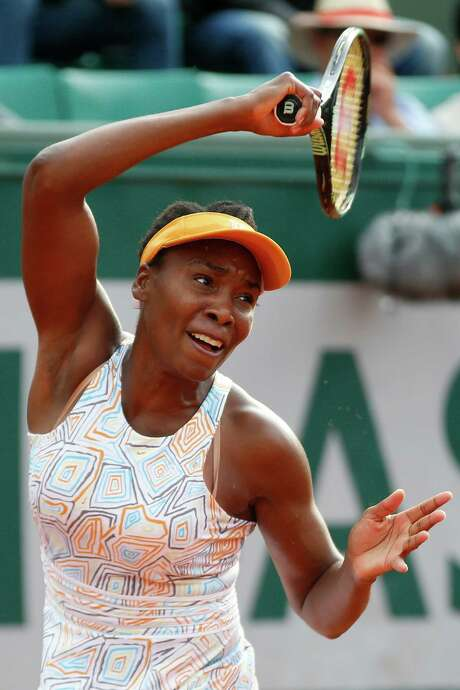 Venus Williams looked sharp in beating Louisa Chirico 6-2, 6-1 in the second round Thursday. Photo: Alastair Grant, STF / AP