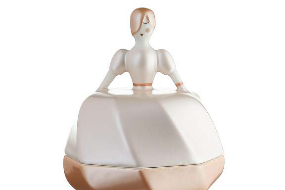 La Petite Mari�e Wedding Favor Figurine�by LPWK,Antonio Aric� for�Alessi�($45, Alessi San Francisco, 424 Sutter St., www.alessi.com).