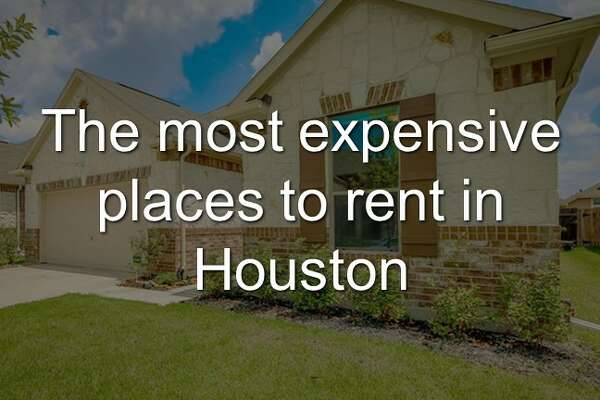 The most expensive places to rent in Houston