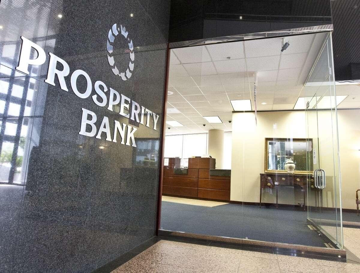 Prosperity BancsharesHouston Rank: 27 Texas Rank: 54 US Rank: 1986 Market Cap: $3.6 billion CEO: David Zalman