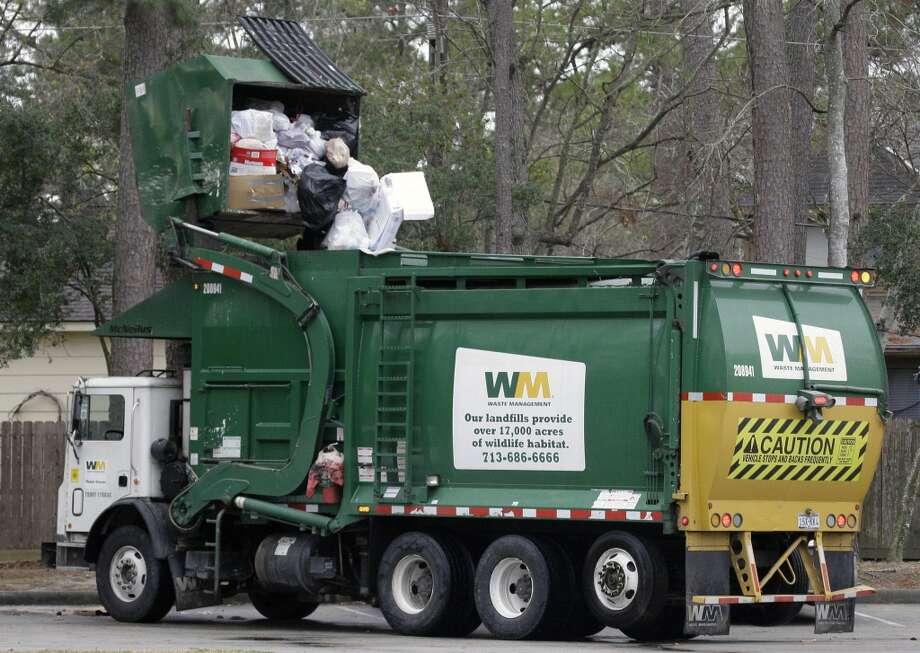 Waste ManagementHouston Rank: 5 Texas Rank: 12 US Rank: 549 Market Cap: $25.1 billion CEO: David Steiner Photo: David J. Phillip, AP