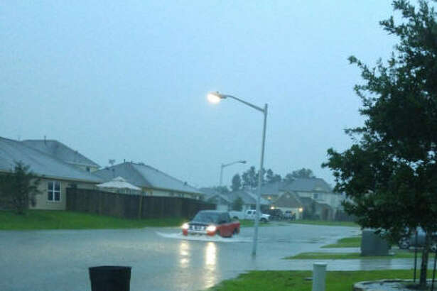 Reader photos show the extent of the flooding in theMontgomery Creek Ranch Subdivision off of SH 242.