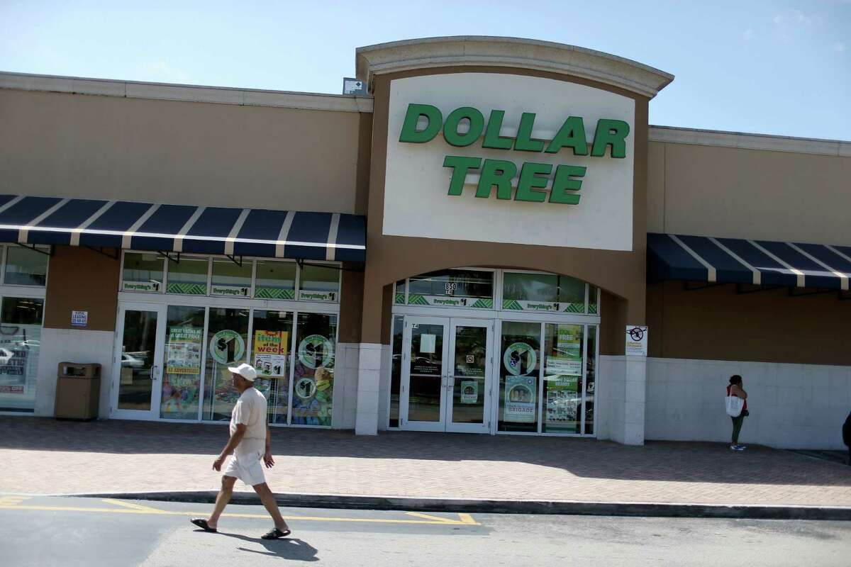 MIAMI, FL - JULY 28: A Dollar Tree store is seen on July 28, 2014 in Miami, Florida. Dollar Tree announced it will buy Family Dollar Stores for about $8.5 billion in cash and stock. (Photo by Joe Raedle/Getty Images) ORG XMIT: 503841595