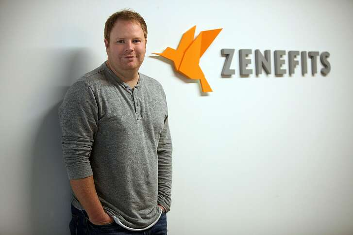 Zenefits CEO Parker Conrad shows his office in San Francisco, Calif., on Friday, November 7, 2014.