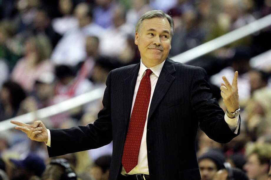With his hiring by the Rockets, Mike D'Antoni will be making his fifth NBA head-coaching stop after previous stints with the Nuggets, Suns, Knicks and Lakers. Photo: Rob Carr, Staff / 2012 Getty Images