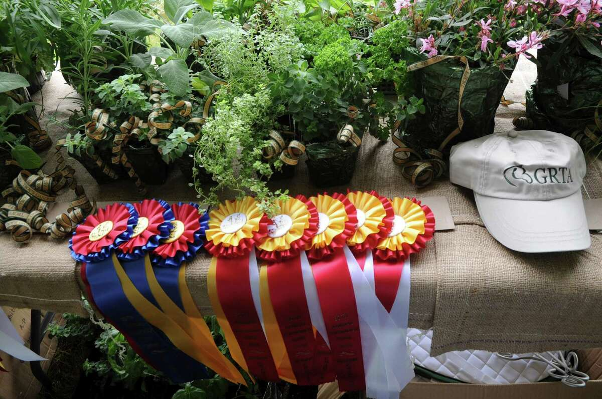 Ribbons at the Greenwich Riding and Trails Associations 90th annual Greenwich Horse Show. This year's show is set for June 12.