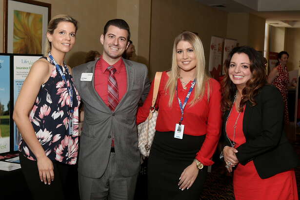 Were you Seen at the 12th Annual Go Red for Women  luncheon, a benefit for the American Heart Association, at the Albany Marriott  in Colonie on Thursday, May 26, 2016?