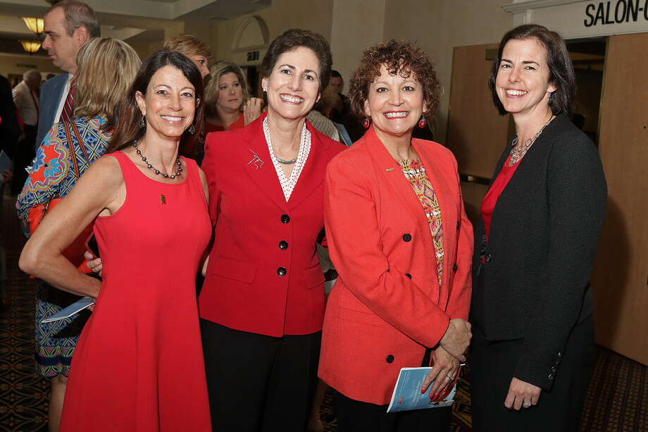 Were you Seen at the 12th Annual Go Red for Women  luncheon, a benefit for the American Heart Association, at the Albany Marriott  in Colonie on Thursday, May 26, 2016? Photo: Joe Putrock/Special To The Times Union