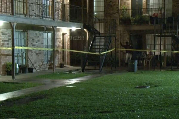 A man died and a woman and another man were wounded Thursday night in a shooting during a fight at an apartment complex in southeast Houston.