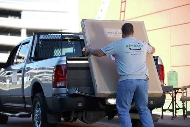 PICKUP, an app that allows users to hire drivers with pickup trucks to move furniture or other bulky items, expanded into Houston this week. Photo provided by PICKUP.