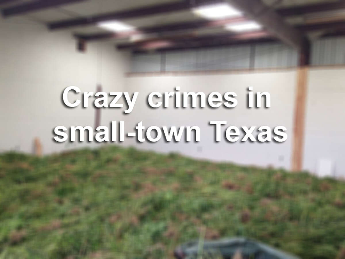 Click through the gallery to see scenes and mugshots from crimes committed in small-town Texas.
