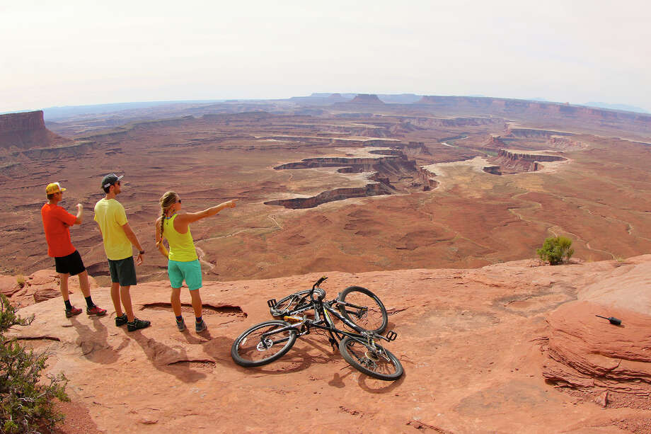 """View of Canyonlands National Park, Moab, Utah, is from """"National Parks Adventure,"""" a new IMAX film that celebrates the 100th anniversary of the National Park Service. The film opens Friday, May 27, in Norwalk. Photo: Contributed Photo"""