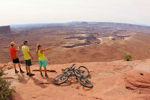 """View of Canyonlands National Park, Moab, Utah, is from """"National Parks Adventure,"""" a new IMAX film that celebrates the 100th anniversary of the National Park Service. The film opens Friday, May 27, in Norwalk."""