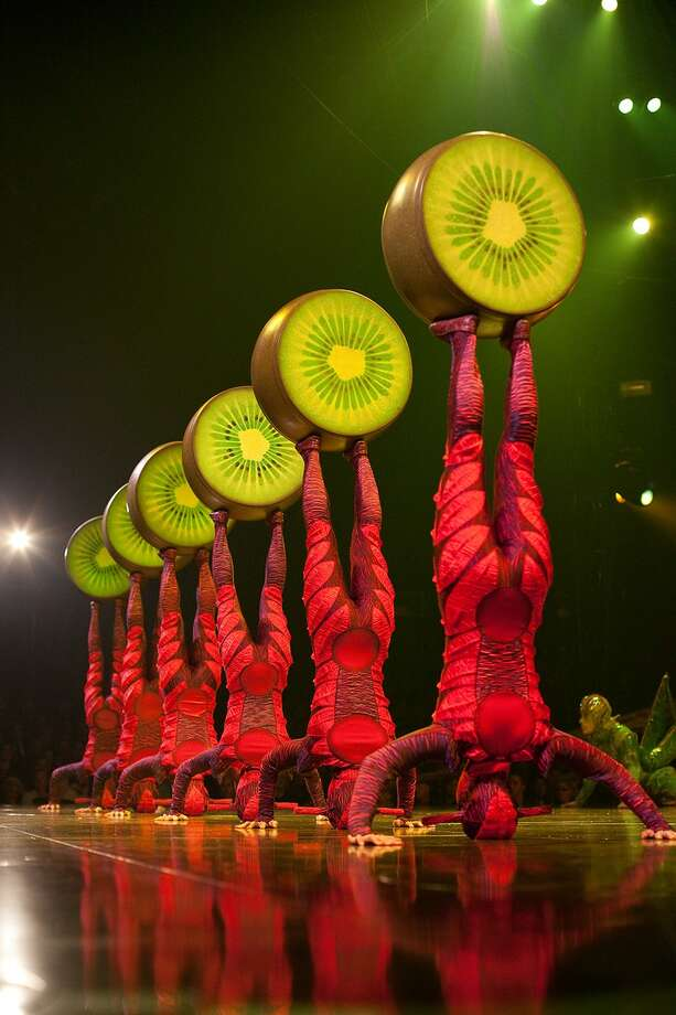 """Cirque du Soleil brings its new arena production, """"Ovo,"""" to the Webster Bank Arena in Bridgeport Wednesday through Sunday, June 8-12. Photo: Contributed Photo"""