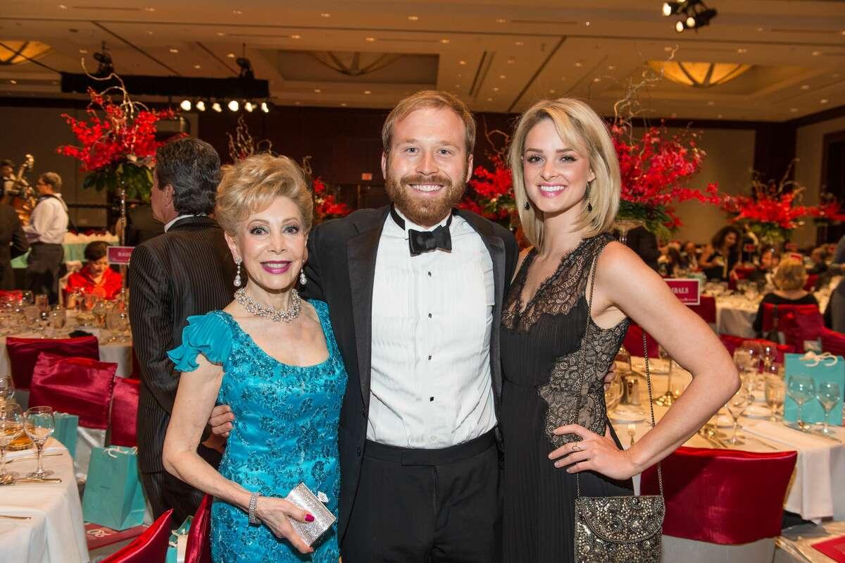 Margaret Alkek Williams, Pierce Bush and Sarah Beth Milton