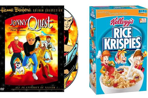 """For pairings without that colorful sugar rush but that are just as sweet, try """"Jonny Quest"""" with Rice Krispies. Both exemplify down-to-earth presentation with a surprising pop of personality."""