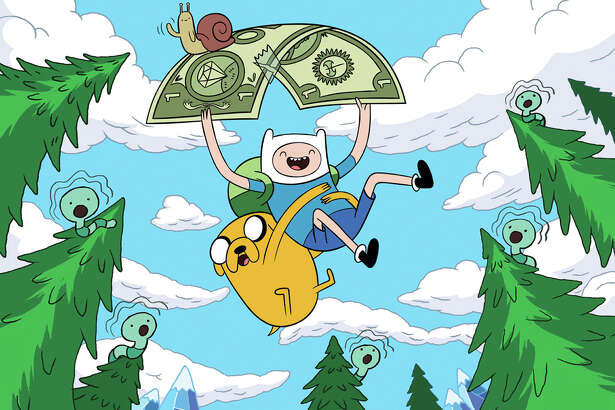 """Adventure Time"" (Hulu) — Cartoon Network's hit animated series, created by San Antonio's own Pendleton Ward, continues to fuse Dungeons & Dragons fantasy with algebraic hilarity, courtesy Finn the boy and his righteous shape-shifting dog pal Jake in the mythical, mathematical Land of Ooo."