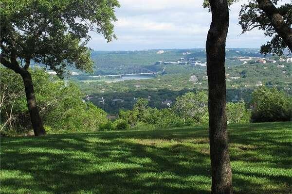 The Austin home at 4602 Ridge Oak has incredible views.
