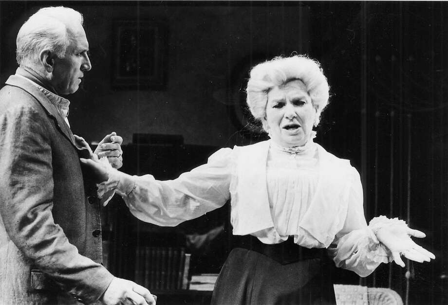 """Angela Paton, left, was in """"Long Day's Journey Into Night"""" with Ray Reinhardt, above. Photo: SFC"""