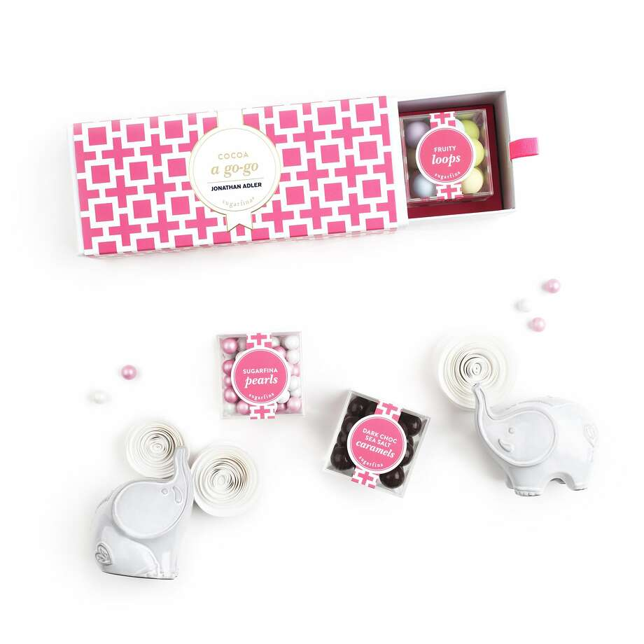 Home designer Jonathan Adler has teamed with luxe candy purveyors Sugarfina for three bento box-style combinations that are as visually delicious as they are tasty. ($30 per box, Sugarfina (1837 Union St.), Jonathan Adler (2133 Fillmore St.) and Neiman Marcus, various locations.) Photo: Sugarfina