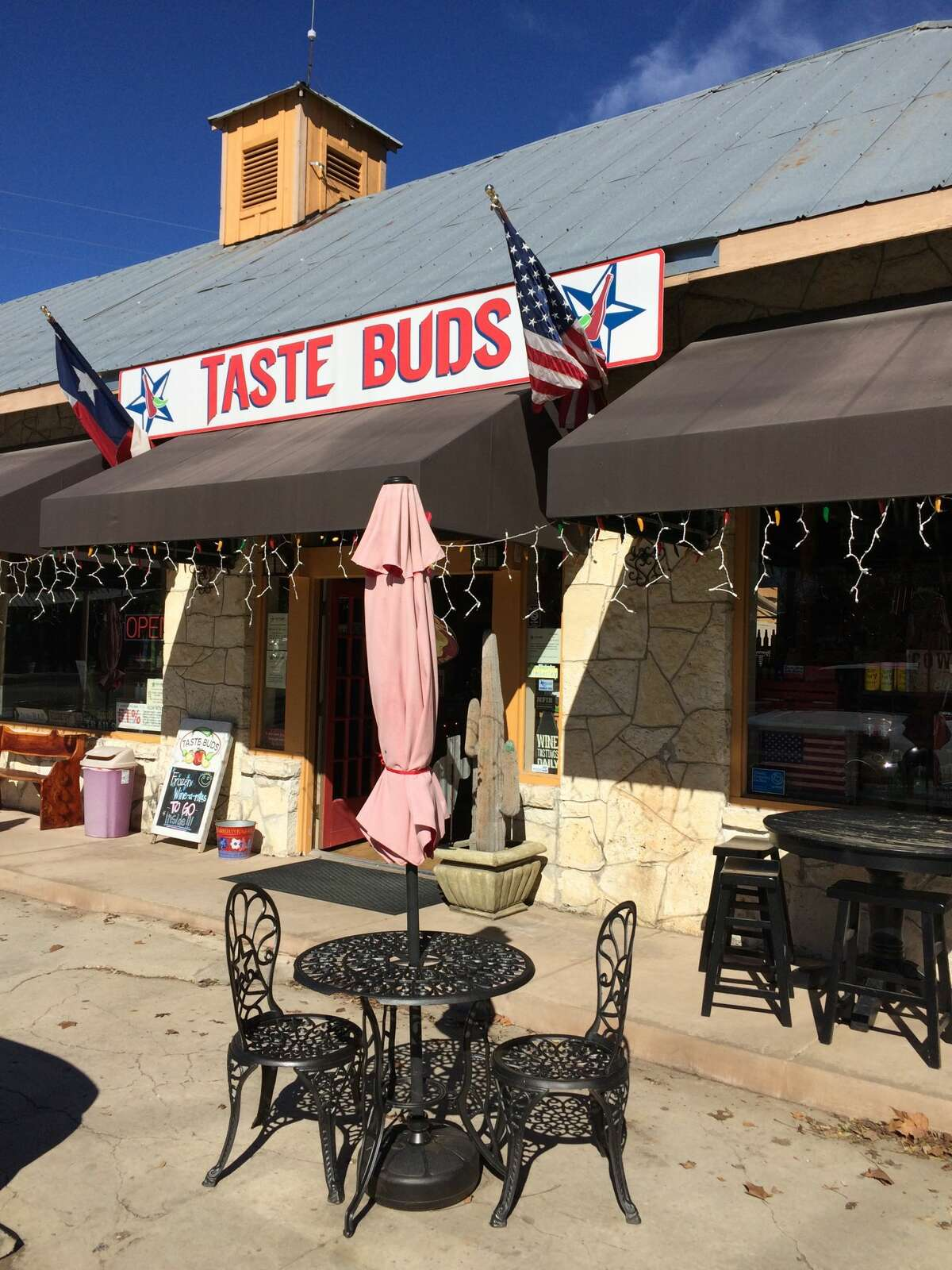 Taste Buds is great - and delicious - starting point. Here, try seemingly endless local salsa, wine, and cheese; beware of the frozen adult beverages, they're deceptively strong.