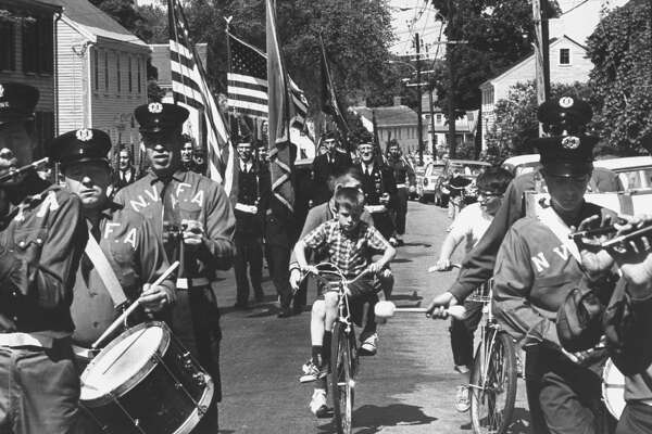 Traditional Memorial Day parade.  (Photo by Leonard Mccombe/The LIFE Picture Collection/Getty Images)