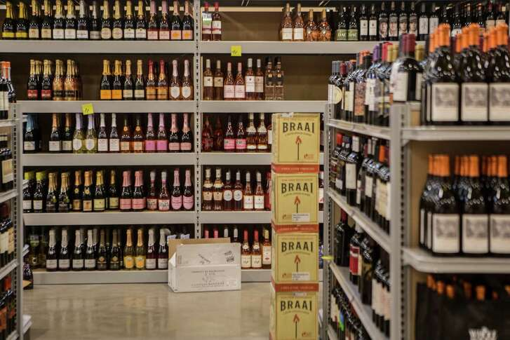 Wide wine selection at the new Whole Foods Market store on 11041 Westheimer Road. Friday, May 27, 2016, in Houston. ( Marie D. De Jesus / Houston Chronicle )