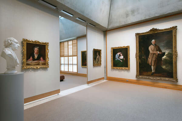 Yale Center for British Art, fourth-floor gallery following reinstallation.