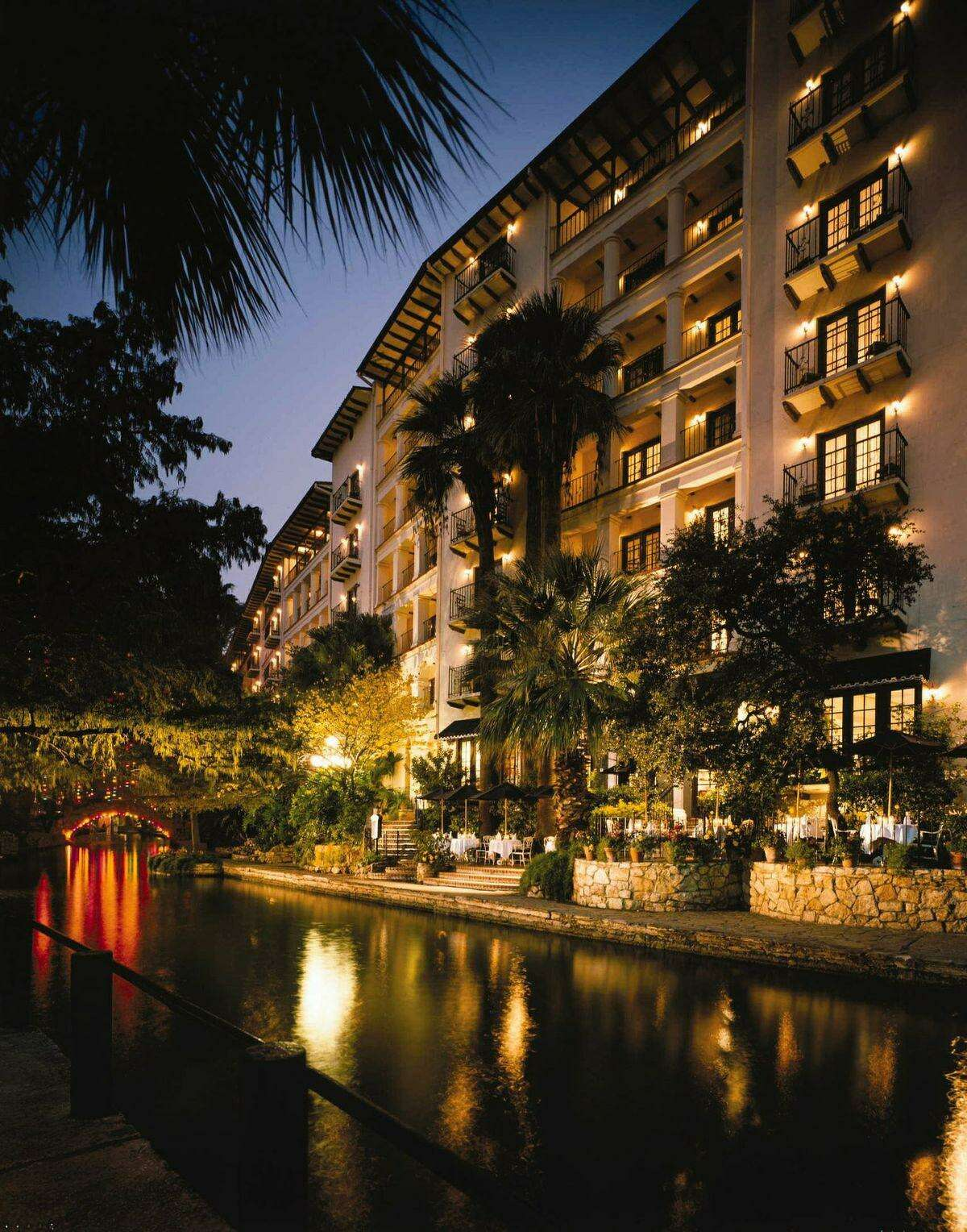 The Omni La Mansión Del Rio on San Antonio's River Walk and two affiliated companies are accused of negligence in a lawsuit that alleges a toddler was struck in the head by a ketchup bottle that fell from a fifth-floor balcony in 2018.