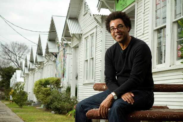 """Rick Lowe has helped revitalize Third Ward through his Project Row Houses """"social sculpture."""""""