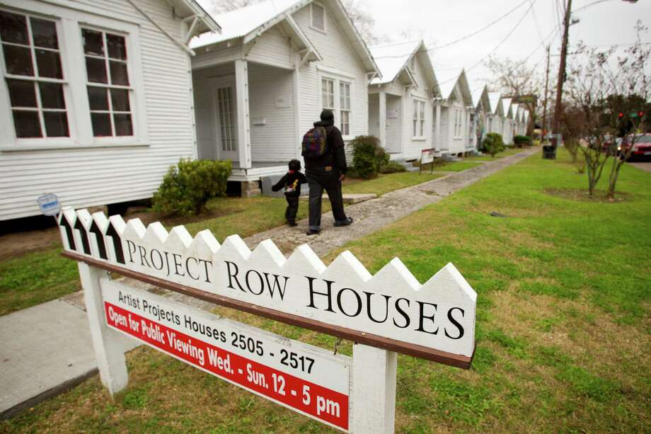 Project Row Houses. Photo: Brett Coomer, Staff / © 2014 Houston Chronicle