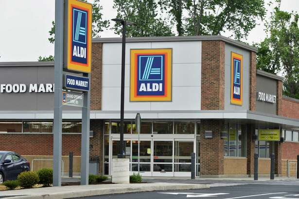 The new Aldi store at 1881-1885 Central Ave. Friday May 27, 2016 in Colonie, NY.  (John Carl D'Annibale / Times Union)
