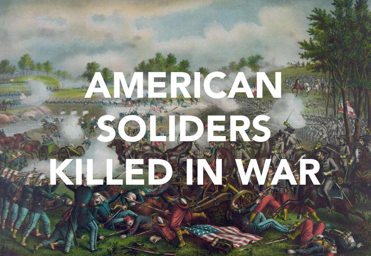 American war deaths by war.