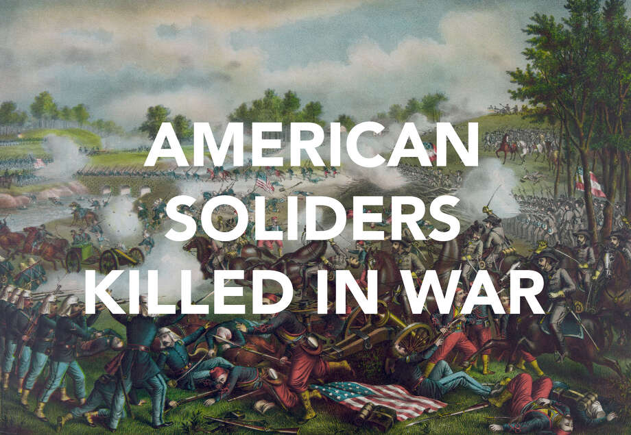 American war deaths by war. Photo: UIG Via Getty Images