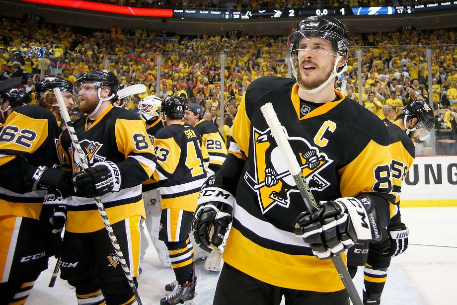 Sidney Crosby (right) is the headliner for the Pittsburgh Penguins. He has 15 points so far in the postseason. Photo: Justin K. Aller, Getty Images