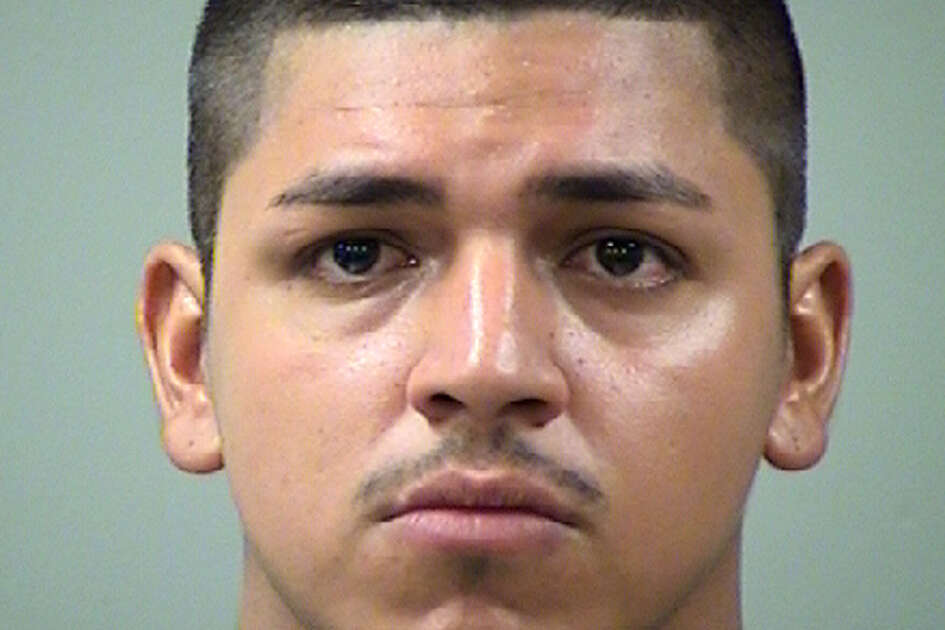 Lenin Carrizales, 23, was arrested and charged with failure to stop and render aid after he allegedly struck a pregnant woman with his vehicle.