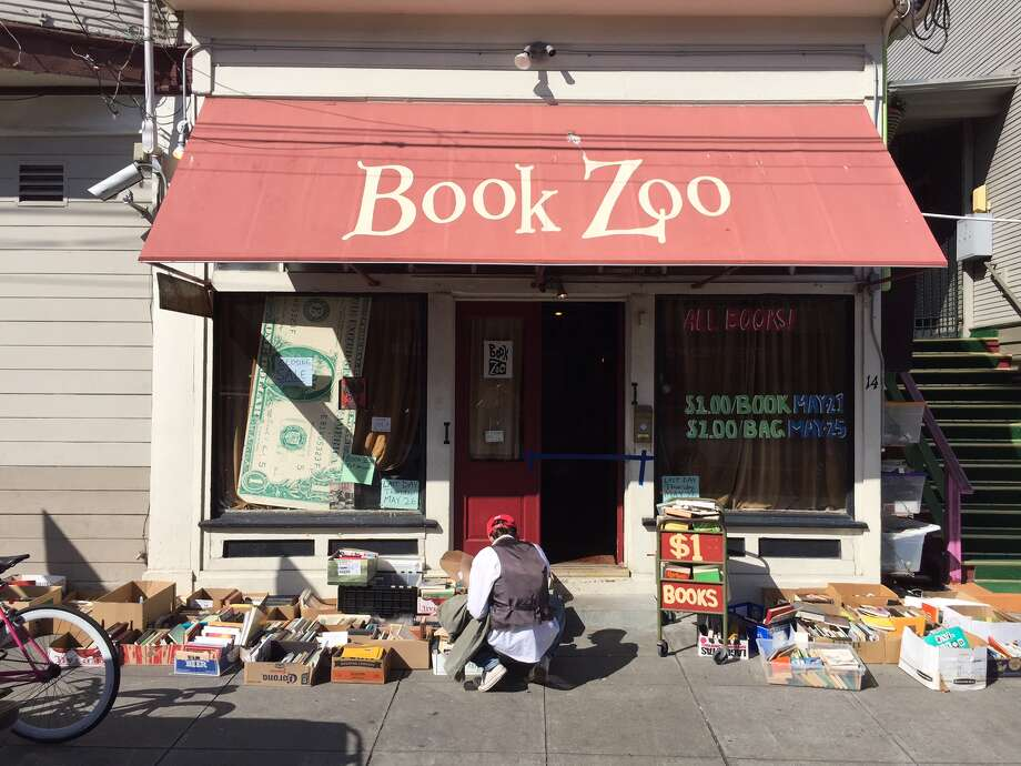 Book Zoo, a 500-square-foot used bookstore, closed Thursday.