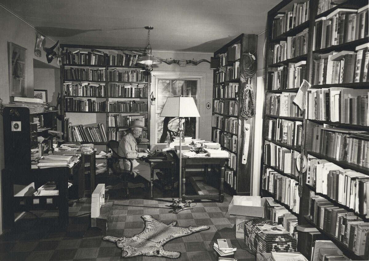 Texas folklorist J. Frank Dobie's house in Austin is not far from the UT campus.
