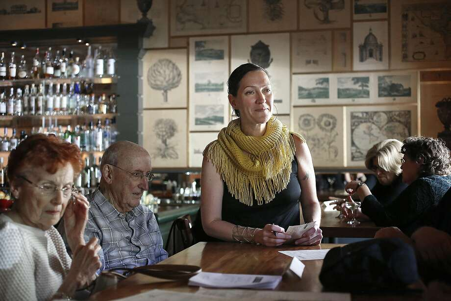 Bar manager Valen West (middle) now owns the restaurant, which has roots in San Francisco dating back to the 1880s. Photo: Liz Hafalia, The Chronicle