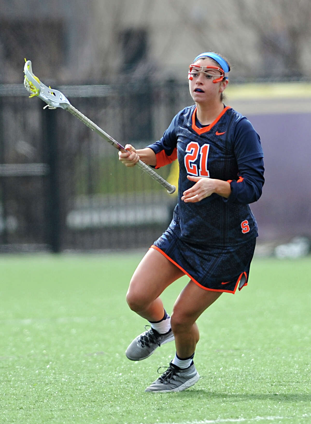 Kayla Treanor, a Niskayuna native, was a star at Syracuse and was introduced as the Syracuse women's lacrosse head coach on Wednesday.