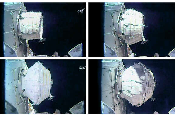 NASA's attempt to inflate the Bigelow Expandable Activity Module, the new experimental room at the International Space Station, on Saturday was a success.