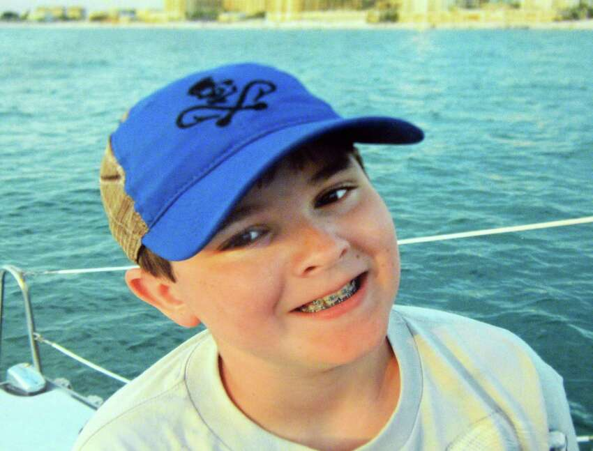 Photo courtesy of the Taras family for the Times Union: Jacobe Skyler Taras, who killed himself at the age of 12, during a family vacation April 10, 2015.