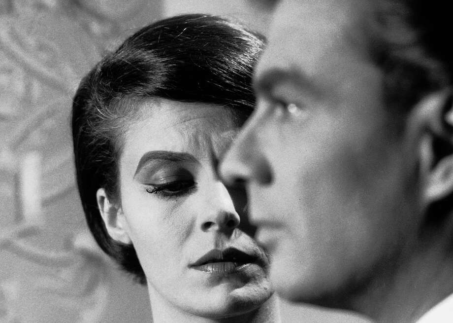 "Still from ""Last Year at Marienbad'' Delphine Seyrig and Giorgio Albertazzi in Last Year at Marienbad. Photo Courtesy Rialto Pictures. Photo: Rialto Pictures"
