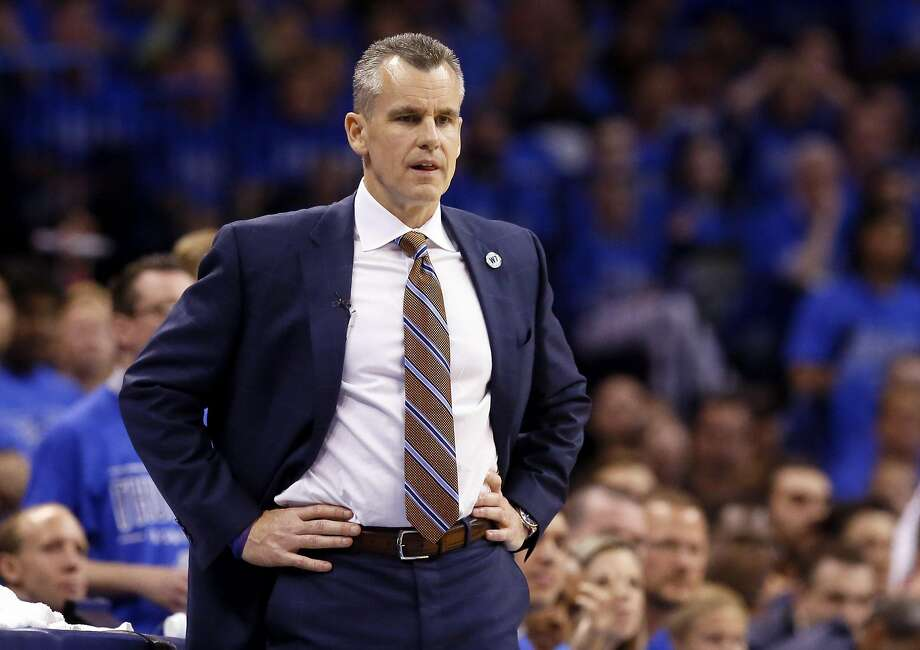 Thunder coach Billy Donovan said the Rockets' scoring inside has been overlooked. Photo: Sue Ogrocki, Associated Press
