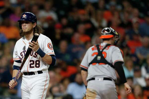 Astros outfielder Colby Rasmus has just one home run and a .200 batting average in May after batting .263 with seven homers in April.