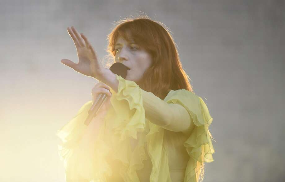 Florence + The Machine performs as the final act of day two on the Jam Cellars stage at the BottleRock 2016 festival in Napa, Calif. on Saturday, May 28, 2016. Photo: Michael Noble Jr., The Chronicle