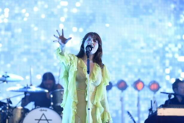 Florence+The Machines performs as the final act of day two on the Jam Cellars stage at the Bottle Rock 2016 festival in Napa, Calif. on Saturday, May 28, 2016.