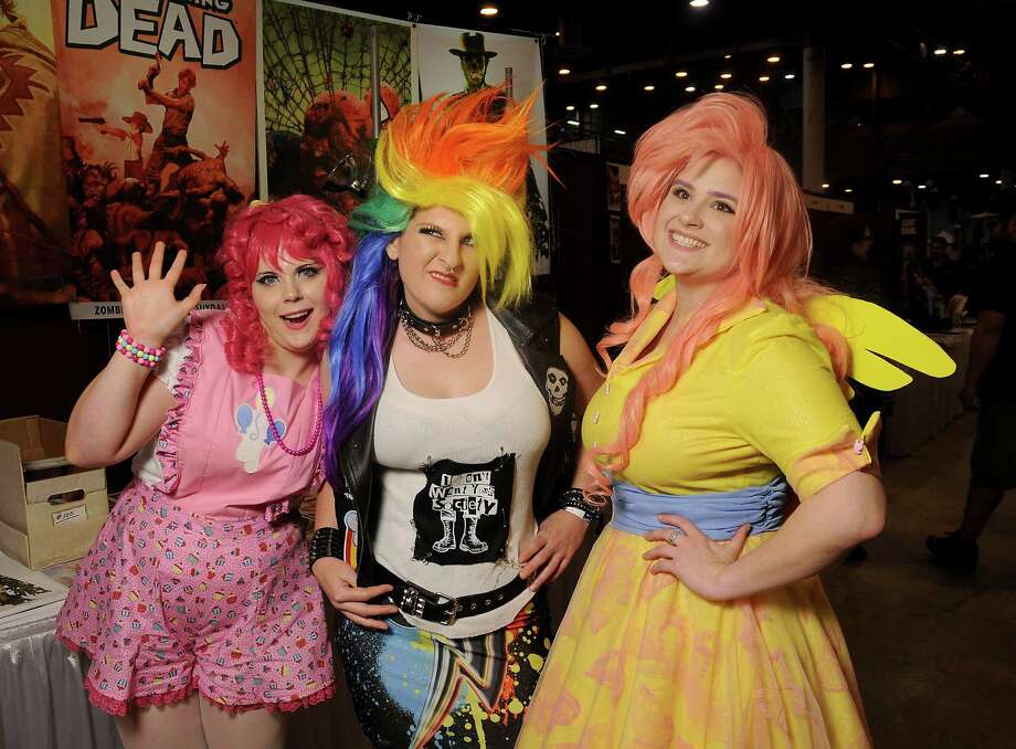 Guests in costume at Space City Comic Con at NRG Center Saturday May 28,2016(Dave Rossman Photo) Photo: Dave Rossman, For The Chronicle / Dave Rossman