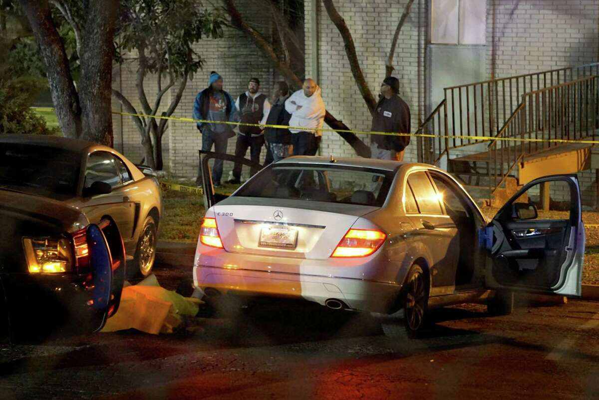 An SAPD officer was put on administrative leave after allegedly shooting Antronie Scott in the upper torso on Friday Feb. 4, 2016 at the Wood Hollow Apartments.