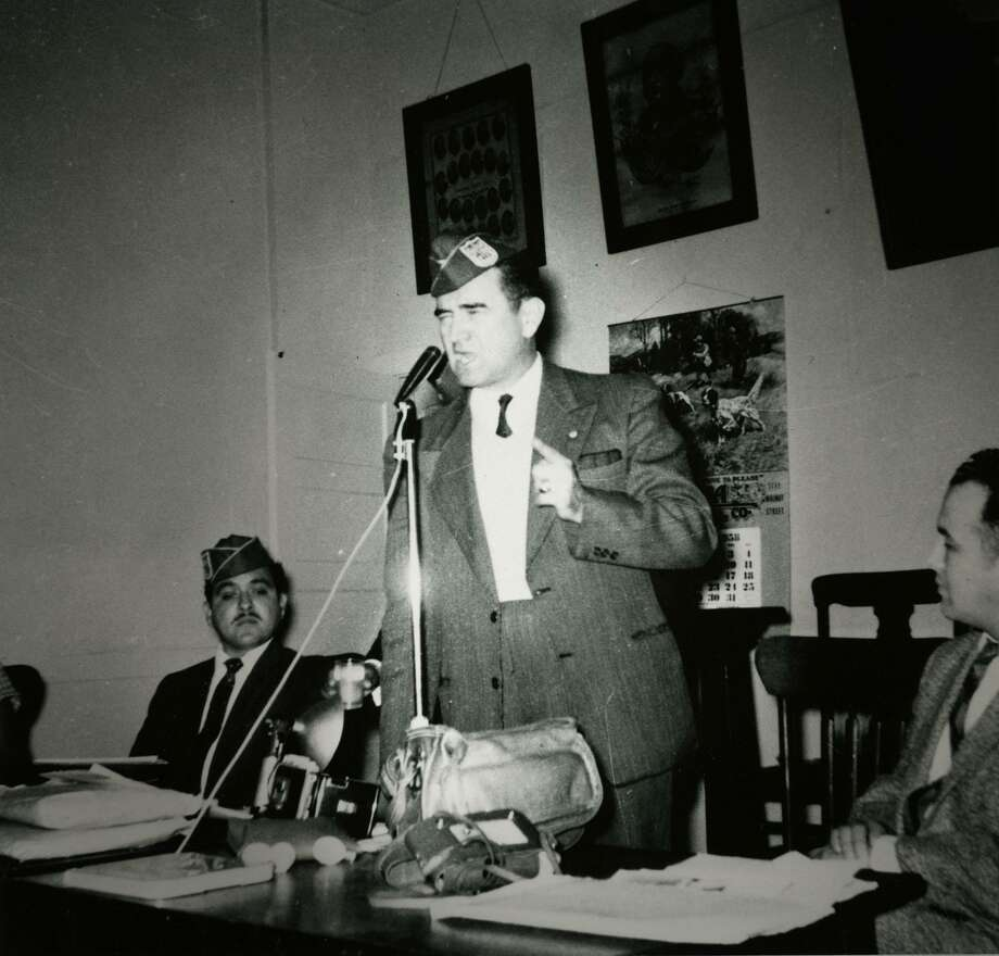 During the 1950s, Hector Garcia, who founded the American GI Forum, spoke out against segregation in South Texas, where it was part of the social landscape. Photo: COURTESY PHOTO /HECTOR P. GARCIA ARCHIVES AT TEX